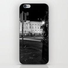Stop. Light. [Black & White] iPhone & iPod Skin