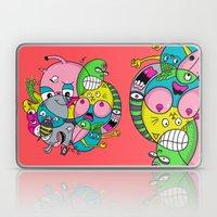 Scribble Ball Laptop & iPad Skin