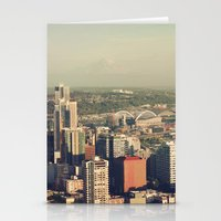 City Of Seattle. View Fr… Stationery Cards