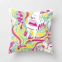 Eyegasmic Throw Pillow