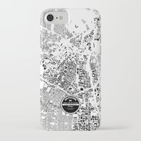 los angeles iPhone & iPod Cases featuring LOS ANGELES by Maps Factory