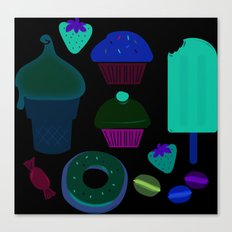 Fancy treats for all! Canvas Print