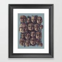 The Olmecs Framed Art Print