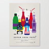 My SUPER SODA POPS No-27 Canvas Print