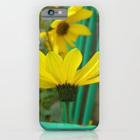 Green & Yellow Perspective iPhone 6 Slim Case