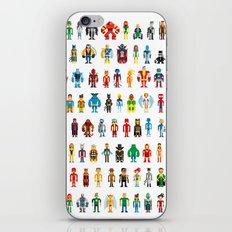 Pixel Heroes iPhone & iPod Skin