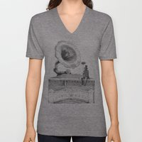 The Chimney Sweep (Monoc… Unisex V-Neck
