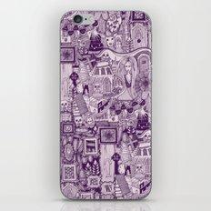 nightmares purple iPhone & iPod Skin