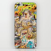 Rock The Town ! iPhone & iPod Skin