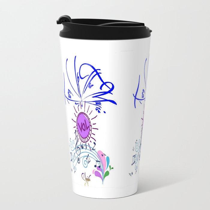 Cabsink16designerpatternmlb Travel Mug By Christa Bethune