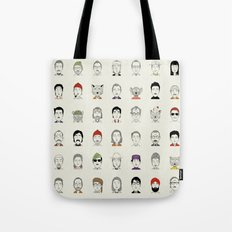 The Characters of W Tote Bag