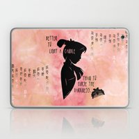 Better to Light a Candle Laptop & iPad Skin
