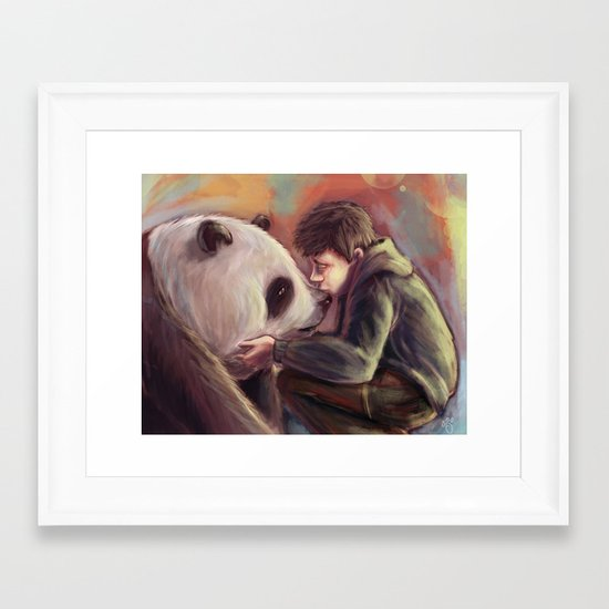 Sweet Giant Framed Art Print