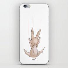 Four Falling Bunnies iPhone & iPod Skin