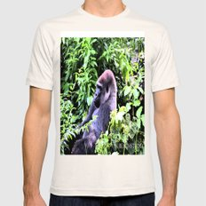 I Know What You're Think… Mens Fitted Tee Natural SMALL
