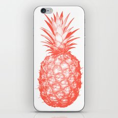 Coral Pineapple iPhone & iPod Skin