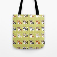 Pembrokes And Cardigans … Tote Bag