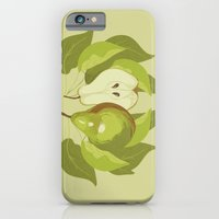 iPhone & iPod Case featuring Pear by Marlene Pixley