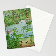 A Day of Forest (4). (the lake ecosystem) Stationery Cards