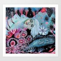 Minkie  Art Print