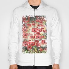 angela's poppies Hoody
