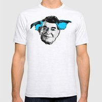 THE BUDDIE x RONALD REAGAN Mens Fitted Tee Ash Grey SMALL