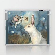 Night Bunny Fairy Laptop & iPad Skin