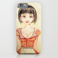 Miss Waitress Pin Up iPhone 6 Slim Case