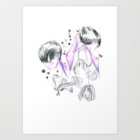 worried about Art Print