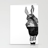 Human Animal 2 Stationery Cards