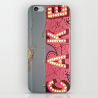 Cake ~ Pop Carnival Sign… iPhone & iPod Skin