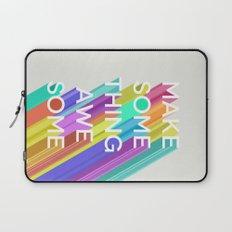 Make Something Awesome Laptop Sleeve