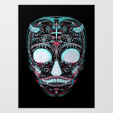 Sweets and Skulls Art Print