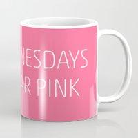 Mean Girls #8 – Pink Mug