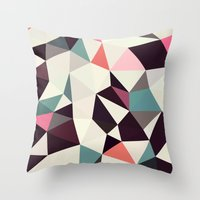 Retro Tris Light Throw Pillow