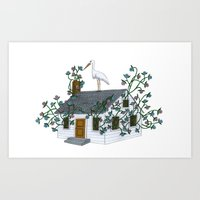 Home Birth Art Print
