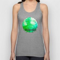 Rejected < The NO Series (Green) Unisex Tank Top