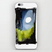 Night Path iPhone & iPod Skin