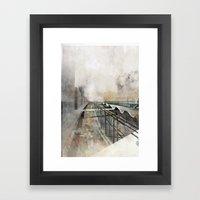 Paris d'avenir 3 Framed Art Print