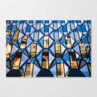 Geometric Glass  Canvas Print