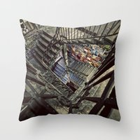 Tacheles Throw Pillow