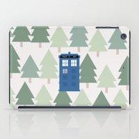 TARDIS Lands In The Paci… iPad Case