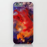 iPhone & iPod Case featuring Aerial View of the Deep  by Erin McGuire Art