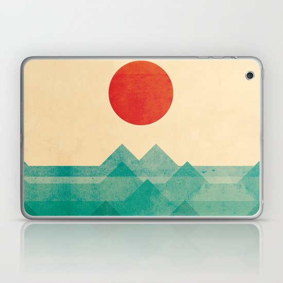 The ocean, the sea, the wave Laptop & iPad Skin