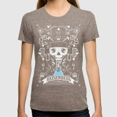 It's All In The Chemistry Womens Fitted Tee Tri-Coffee SMALL