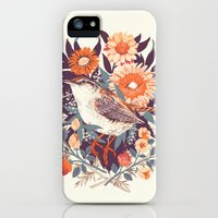 iPhone Cases featuring Wren Day by Teagan White