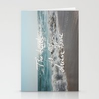 The Beach is My Dream Home Stationery Cards