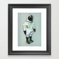 Mr CMYK Framed Art Print