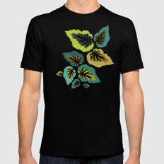 Going, Going, Begonia Mens Fitted Tee Black SMALL