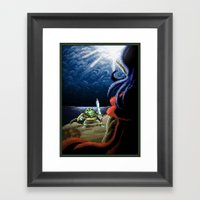 Pixel Art Series 2 : Fig… Framed Art Print